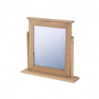 Corona Antique Wax Pine Mirror