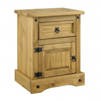 LPD Furniture Corona Bedroom Set, Pine