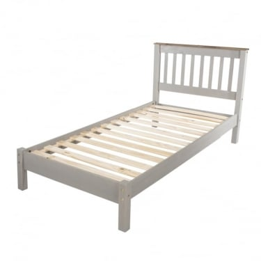 Core Products Corona Grey Washed Bed Frame