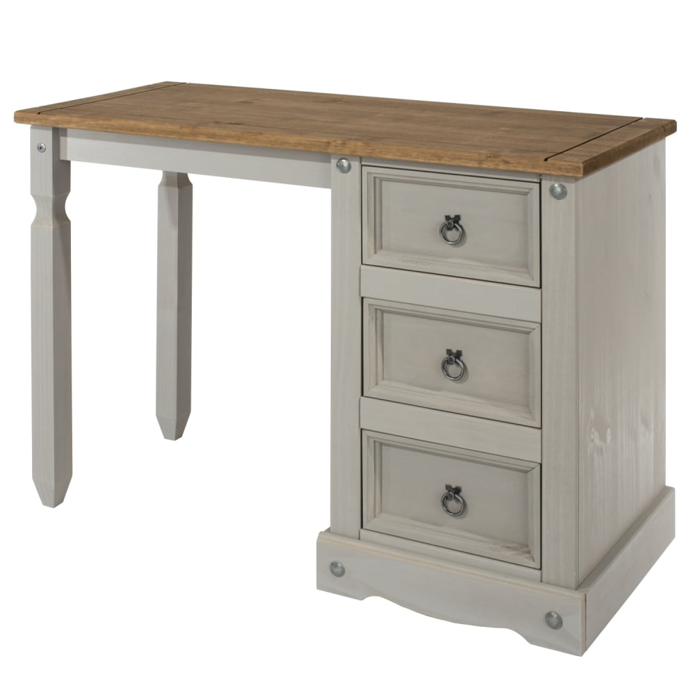 finest selection b495d dd60f Corona Grey Washed Effect Pine Dressing Table