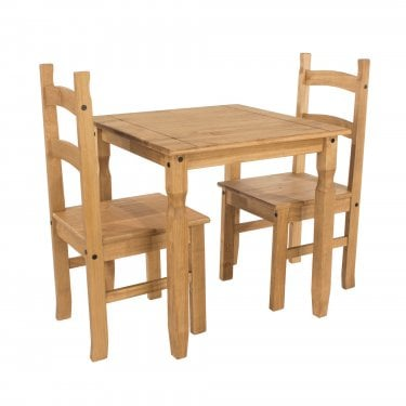Corona Small Antique Pine Dining Set