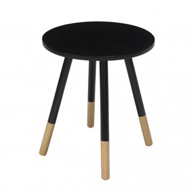 Costa Black Side Table