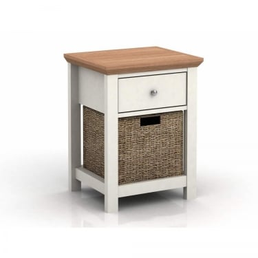 Cotswold Cream 1 Drawer Lamp Table