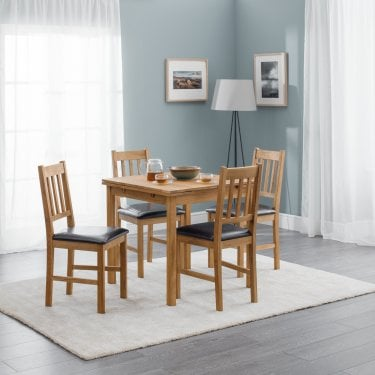 Coxmoor Dining Set Of 4, White Oak