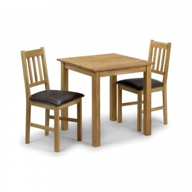 Coxmoor Square Dining Set Of 2, White Oak