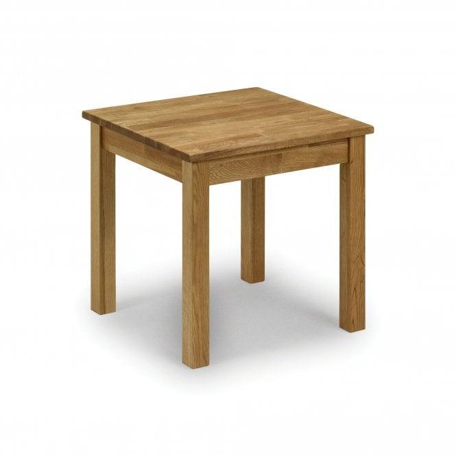 Coxmoor Square Lamp Table, White Oak