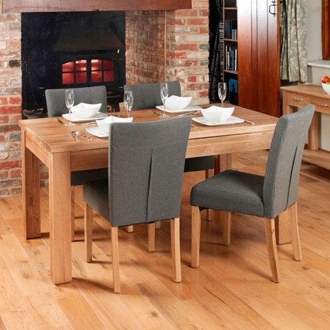 Crawford Rectangular Medium Dining Table, Oak