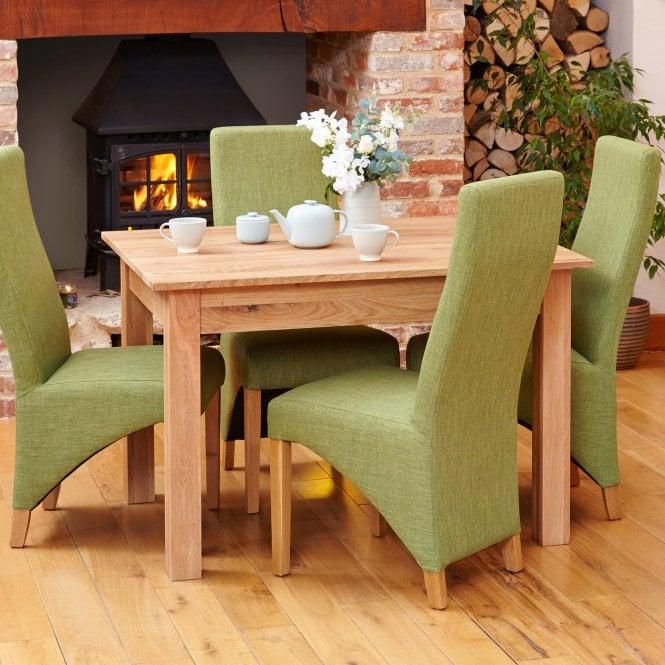 Crawford Rectangular Small Dining Table, Oak