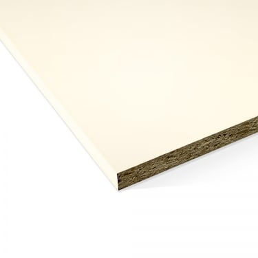 Cream 15mm Contiplas Furniture Board