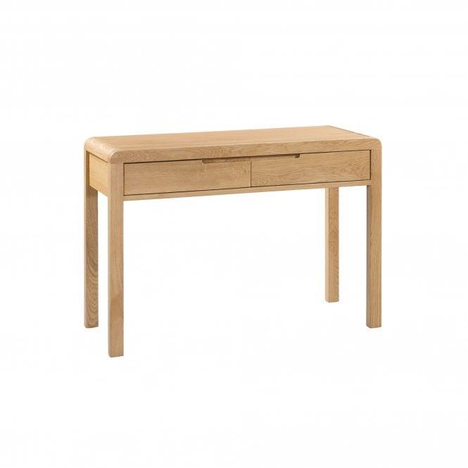 Curve 2 Drawer Dressing Table Set, Oak