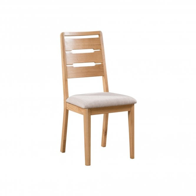 Curve Dining Chair Set Of 2, Oak