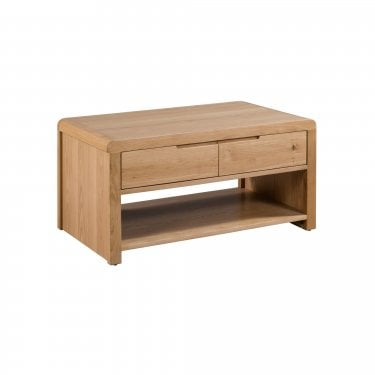 Curve Oak Coffee Table