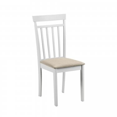 Daisy Dining Chair Set Of 2, Ivory