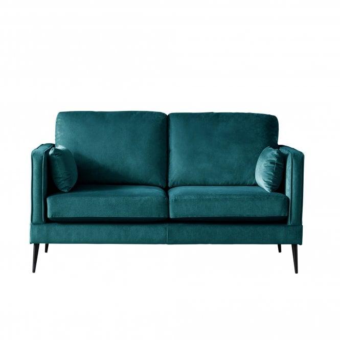 Darwin 2 Seater Sofa, Malta Peacock Velvet
