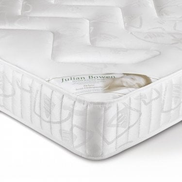 Deluxe Quilted Damask Single Semi-Orthopaedic Mattress
