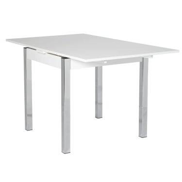 Designa White Extending Dining Table