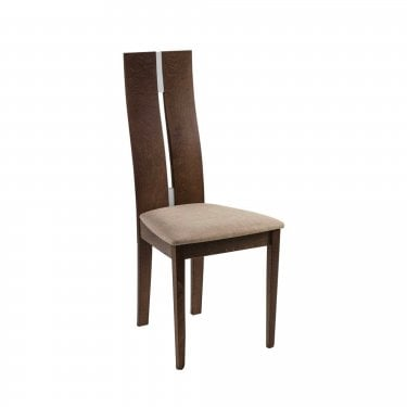 Dickens Dining Chair Set Of 2, Walnut