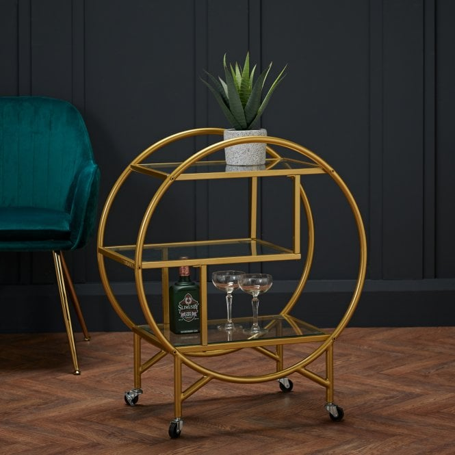 Dixie Drinks Trolley, Gold