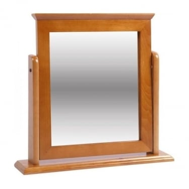 Dovedale Antique Honey Tinted Lacquer Pine Mirror