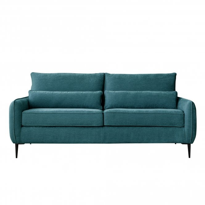 Dura 3 Seater Sofa, Manhattan Emerald Velvet