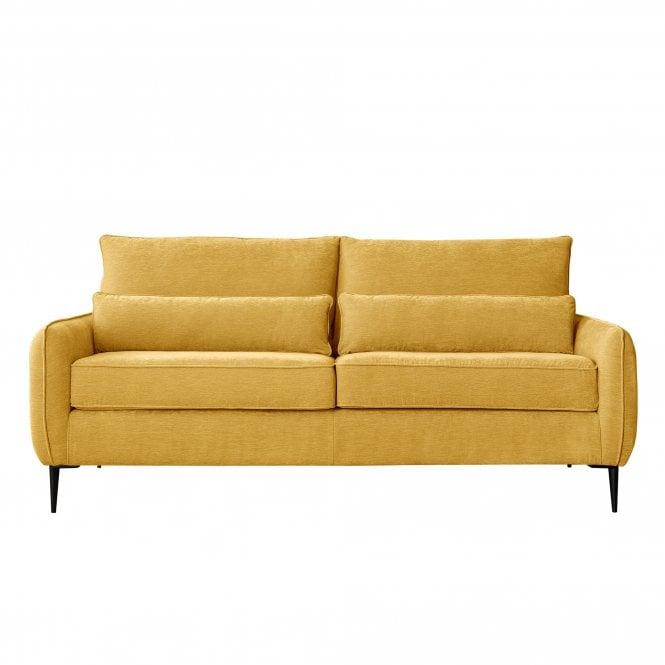 Dura 3 Seater Sofa, Manhattan Gold Velvet