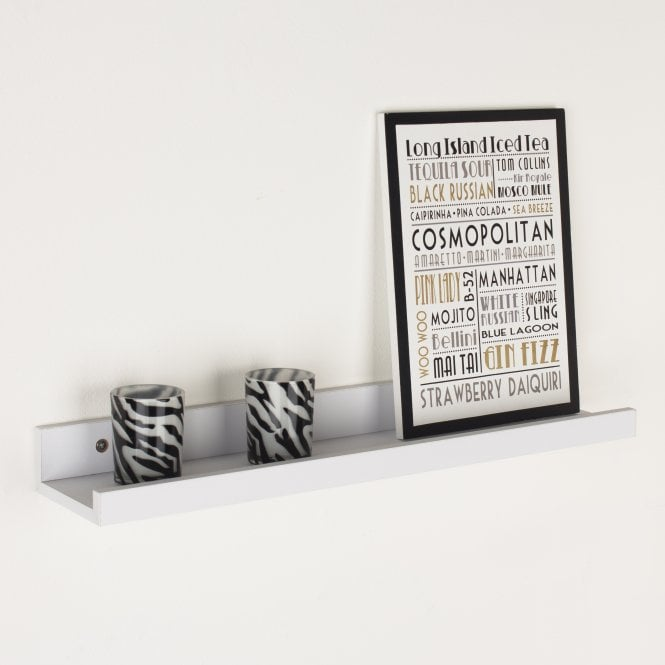 Dura 580X100Mm Display Shelf, White