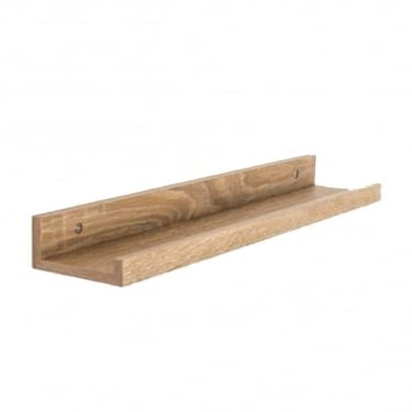 Dura Foiled Oak 480x100mm Display Shelf