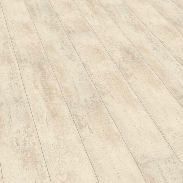 Elesgo Supergloss Extra Sensitive Antique White Laminate Flooring
