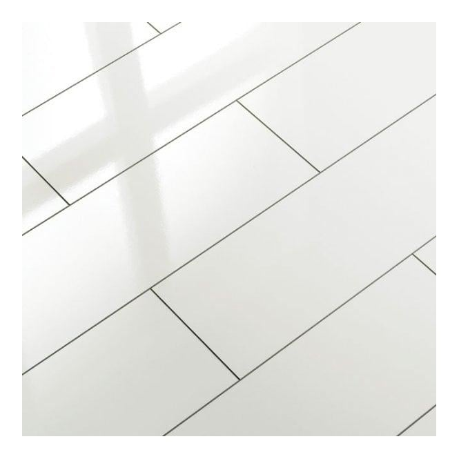 Laminate flooring white gloss laminate flooring for White laminate flooring