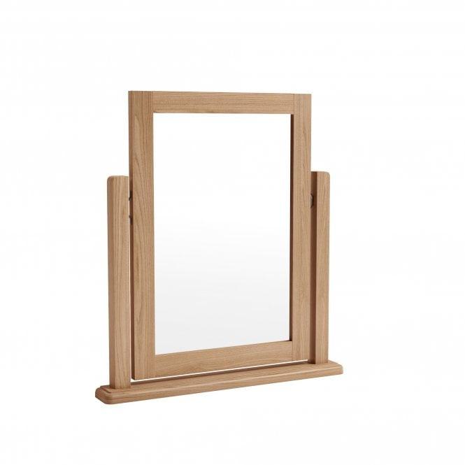 Ellie Dressing Table Mirror, Light Oak