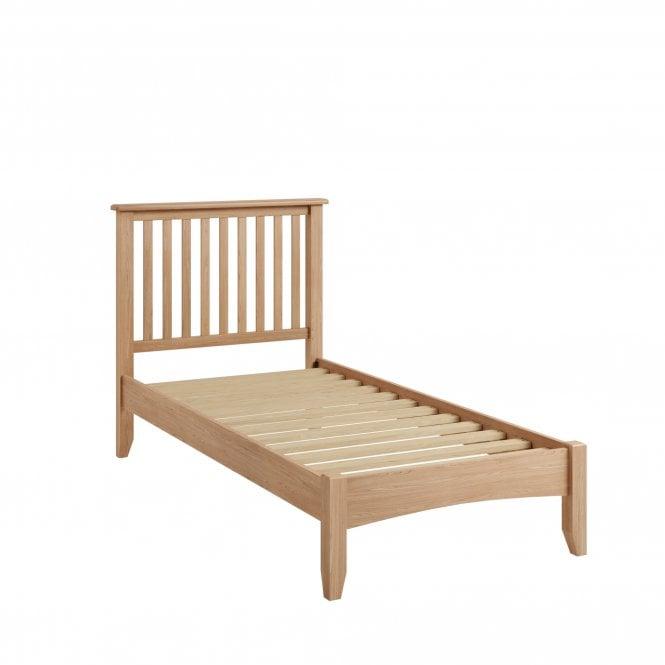 Ellie Single (3'0'') Low End Bed, Light Oak