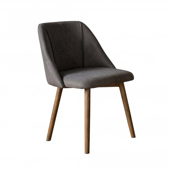Elliot Dining Chair Set Of 2, Slate Grey