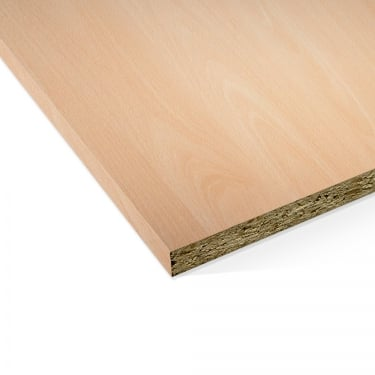 Ellmau Beech 15mm Contiplas Furniture Board
