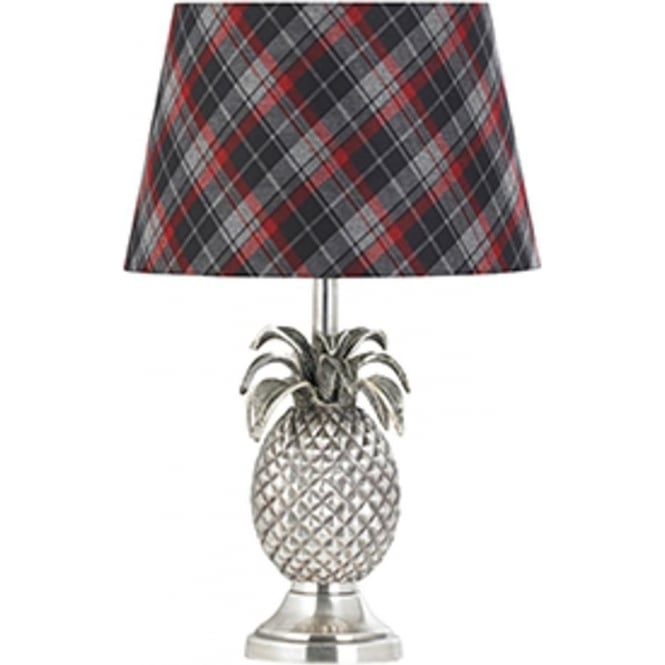 Endon Lighting Pineapple 1Lt Pewter 60W Table Light (EH-PINEAPPLE-TL)