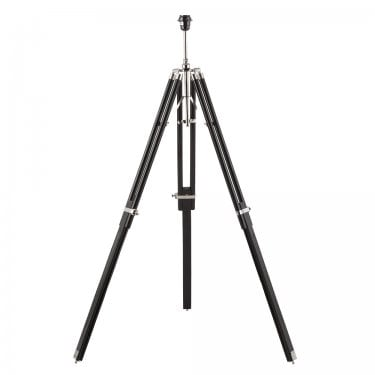 Endon Lighting Tripod 1Lt Dark Wood 60W Floor Light (EH-TRIPOD-FLBL)