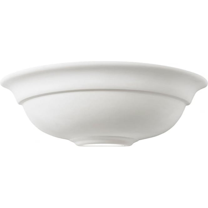 Endon Lighting Hillside Unglazed Ceramic 1Lt Wall Light