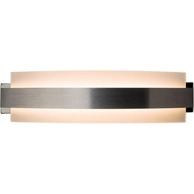 Endon Lighting Matson Brushed Aluminium & Frosted Glass 7W Wall Light