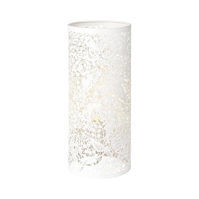 Endon Lighting Secret Garden Matt Ivory Warm White 1Lt Table Light