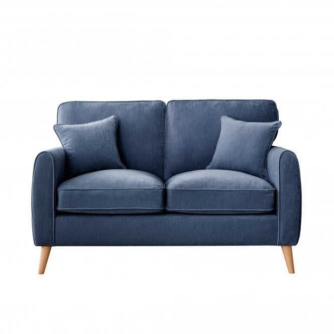Enfield 2 Seater Sofa, Manhattan Navy Velvet