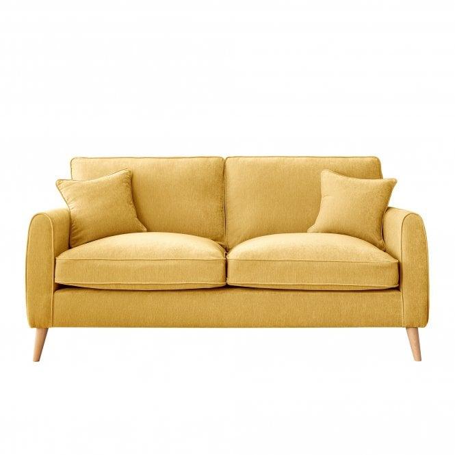Enfield 3 Seater Sofa, Manhattan Gold Velvet