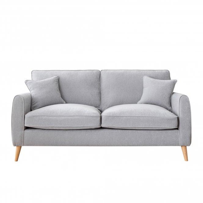 Enfield 3 Seater Sofa, Manhattan Ice Velvet