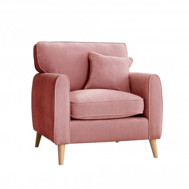 Enfield Armchair, Manhattan Plum Velvet