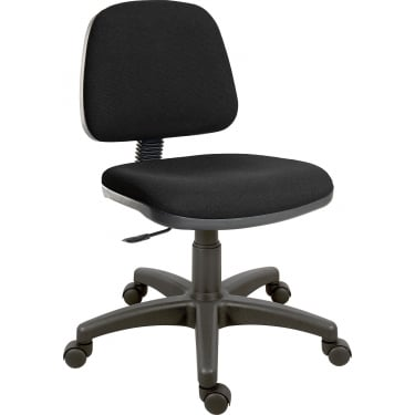 Teknik Ergo Blaster Black Operator Chair with Nylon Base (1100BLK)