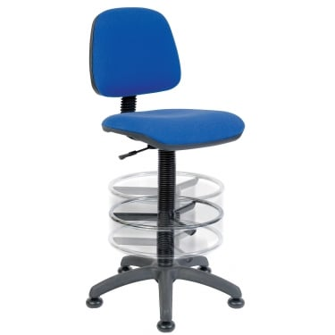 Ergo Blaster Blue Deluxe Draughter Chair