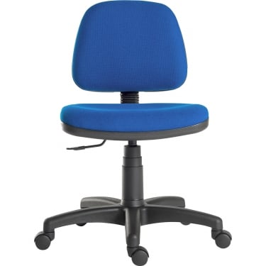 Ergo Blaster Blue Operator Chair with Nylon Base