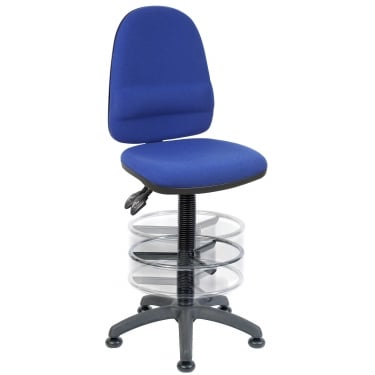 Ergo Twin Blue Deluxe Draughter Chair