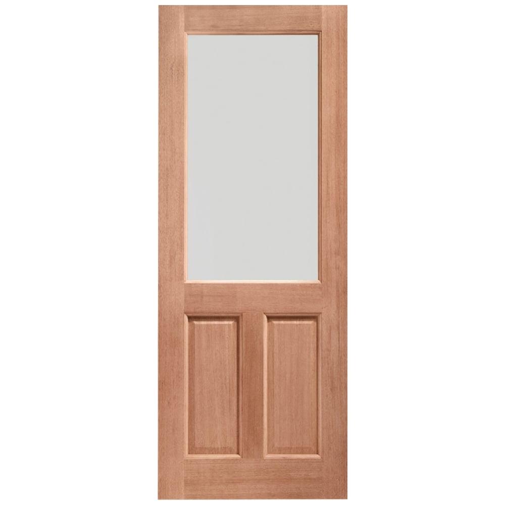 Xl joinery 2xg hardwood external door leader stores for Double glazed double doors