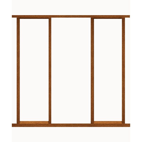 Lpd doors un finished hardwood external universal for Door frame kit