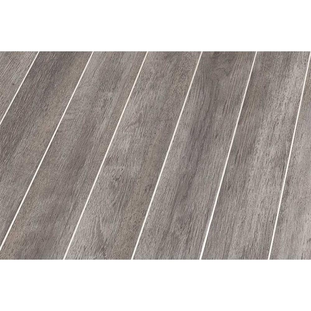 Falquon high gloss white oak with silver strip laminate for White laminate flooring