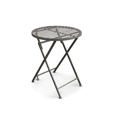 Felbrigg Galvanised Metal Folding Table